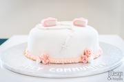 1st communion cake