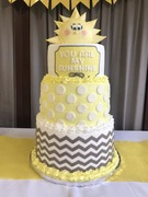 Sunshine baby shower cake