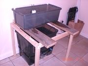 aquaponics, first system 023
