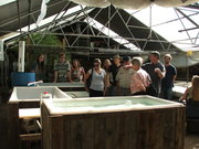 Murray Hallam class visit to the GrowHaus