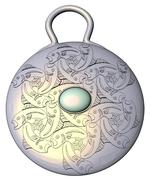 Opal Pisces Pendant