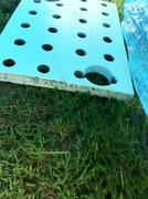 Ouside raft closeup