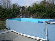 Sealing 1/2 of the 3000 gallon tank