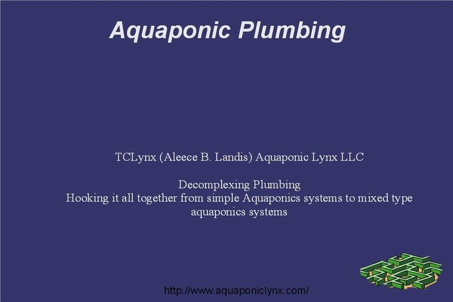 Plumbing Class Slide 1
