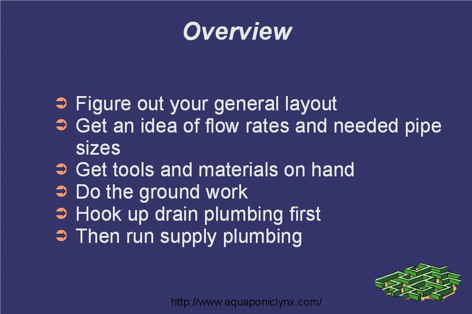 Plumbing Class Slide 3