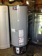 A Polaris NG Hot Water Tank with Radiant in and out