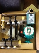 Hydronic Side Pumps and Manifold