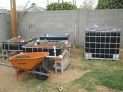 Auquaponics Garden progress 3/17/12