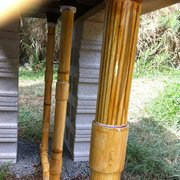 Faux Bamboo Cinder Bed Pipes