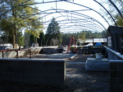 Greenhouse install on house foundation