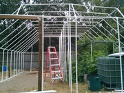 PVC greenhouse 24ft x 26ft pic 3