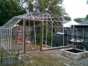PVC greenhouse 24ft x 26ft