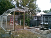 PVC greenhouse 24ft x 26ft