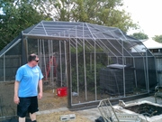 PVC greenhouse 24ft x 26ft pic4