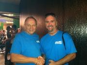 Dr. James Rakocy and me