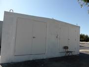 6 ft wide Steel Doors