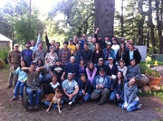 Happy Classmates at NorCal Aquaponics Commercial Training event in Willits California