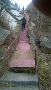 Wonky Stairs to waterfall 1