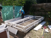 grow bed frame