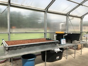 aquaponics in building stage
