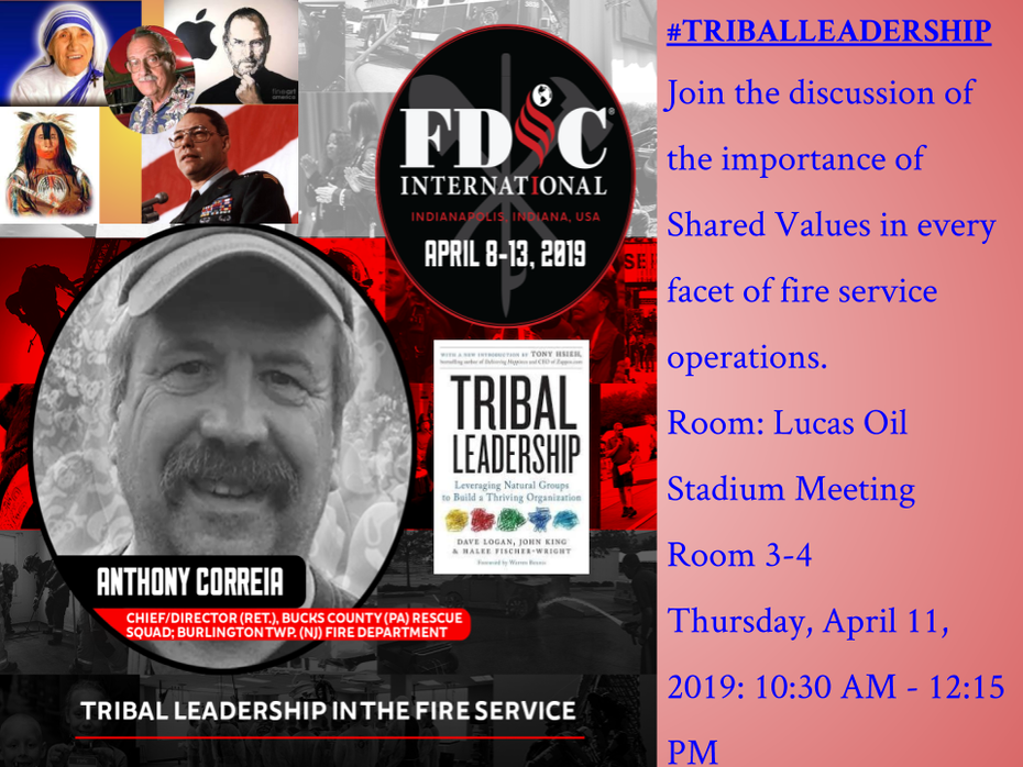 Correia Tribal Leadership Promo-FDIC2019