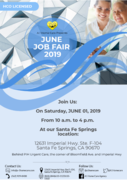 A-1 Home Care Agency June Job Fair