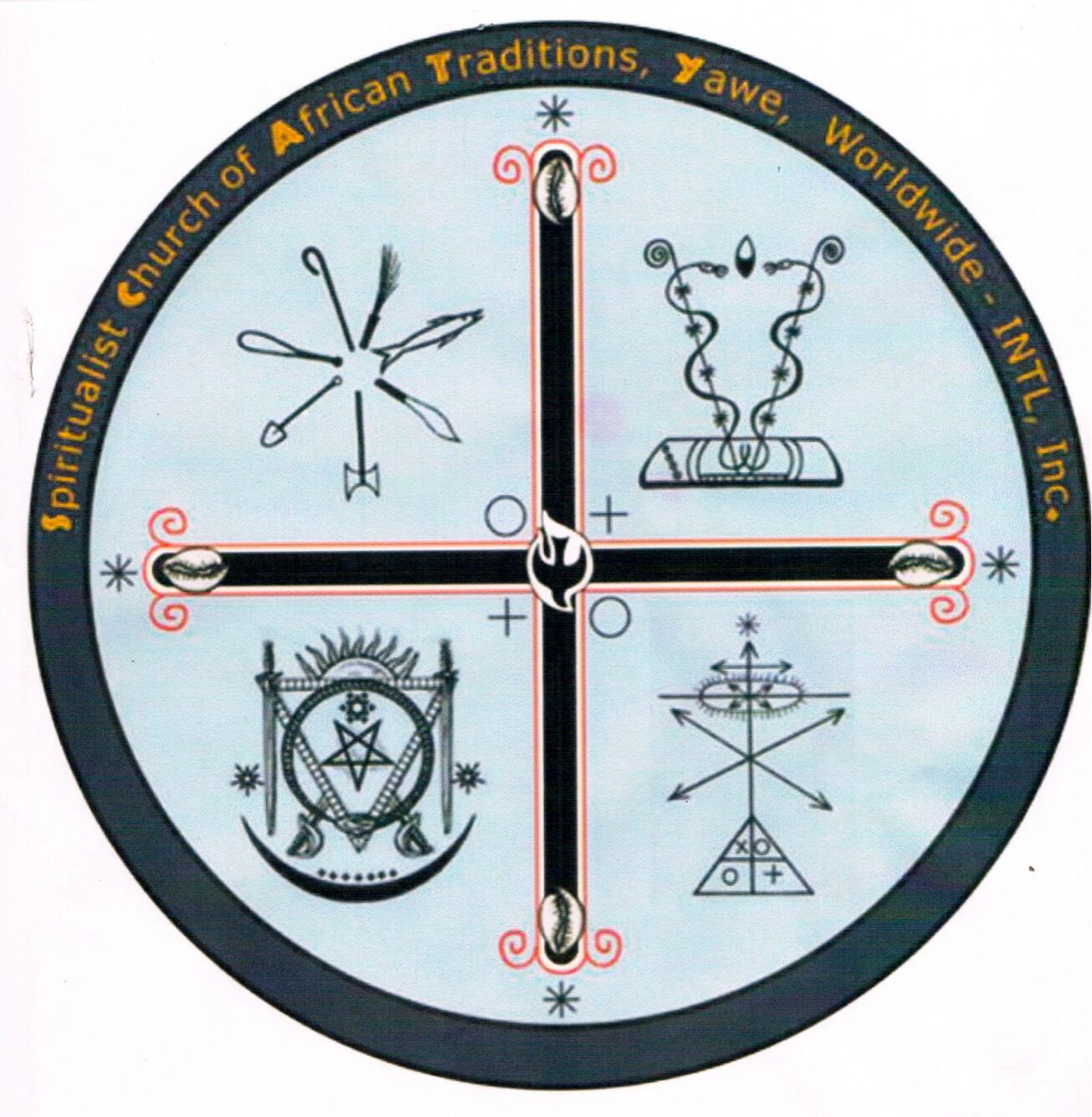 Spiritualist Church Of African Traditions Yahweh INTL, Inc. Logo
