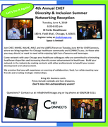 2019 CHEFConnects: A Diversity & Inclusion Networking Event