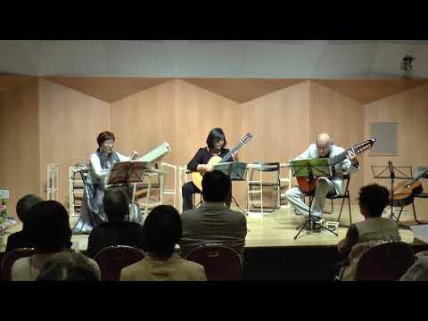 シンフォニア1番 BWV787 Sinfonien1 プサルタリー ギター  Psaltery& Guitar