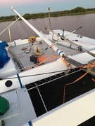 Stepping the mast