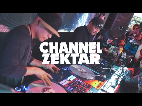 DJ QBERT & MIX MASTER MIKE | Channel Zektar (NAMM2017)