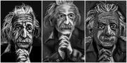 Sketching Albert Einstein