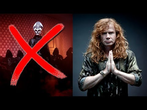 Dave Mustaine: I Don't Want To Play With Satanic Bands! | Megadeth