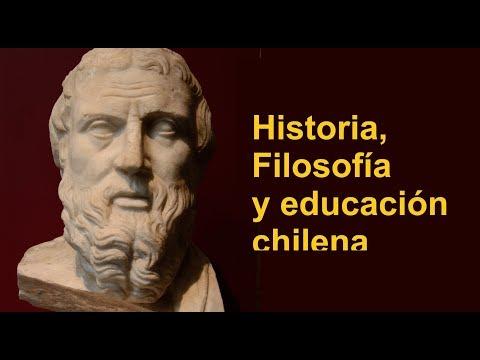 Historia, filosofía y el lamentable estado de la educación chilena
