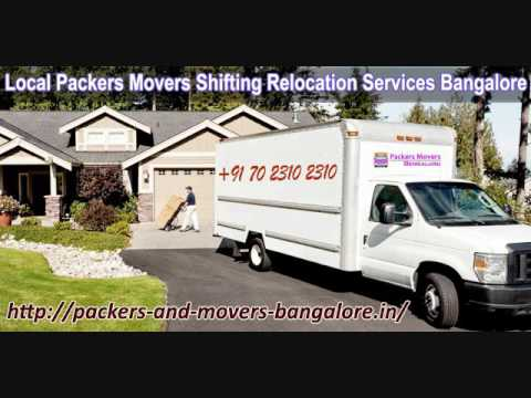 Packers And Movers Bangalore Local Shifting Charges Approx