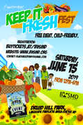 The Land of Kush and Black Veg Society of Maryland Present First Keep It Fresh Children's Vegfest and Book Fair in Baltimore