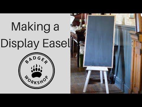 Making a Display Easel