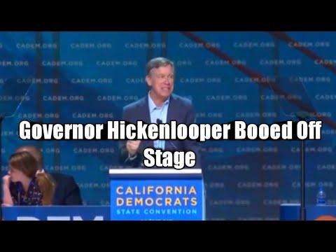 Governor Hickenlooper Booed By California Democrats for Criticizing Socialism