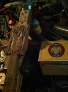 Owl tin &Headstock