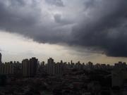 chuva em São Paulo - mooca