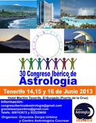 30 Congreso Iberico de Astrologia Tenerife 2013