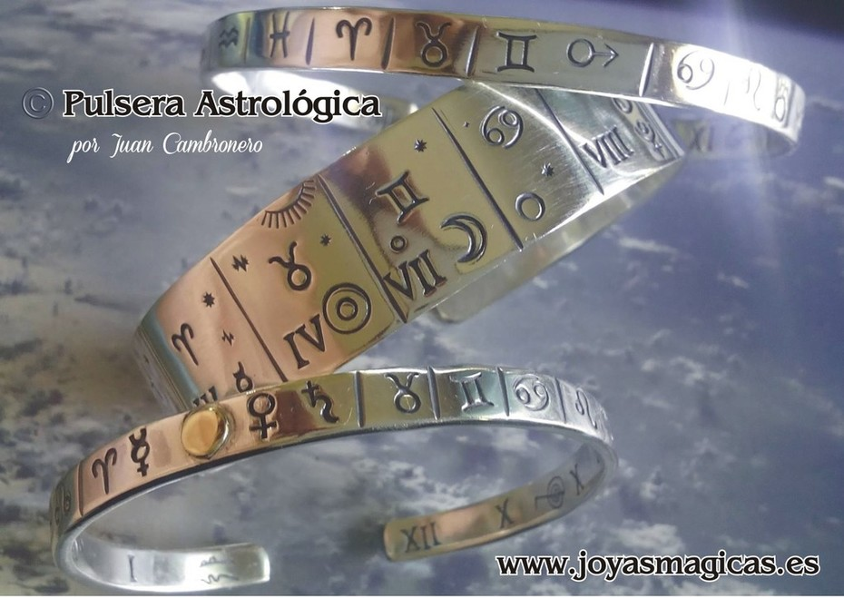 la pulsera astrologica personalizada