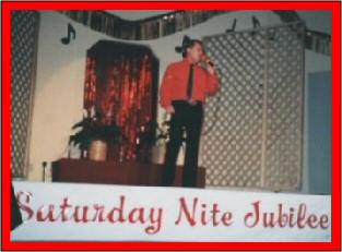 Tom at the Sat. nite Jubilee