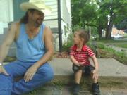Ezra and Papa