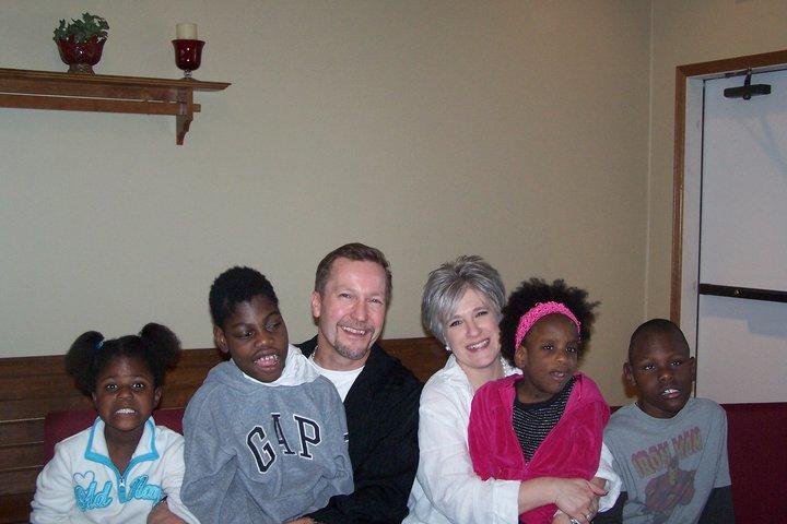 Kent & Shantel with Victoria, Travis, Kiah, and Vonte 2011