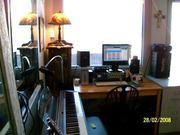 Yamaha Keyboard available in the studio