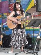 Performing at Alamo Springs Cafe in Fred, TX