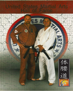 Induction in the United State Martial Arts Hall of Fame 2011