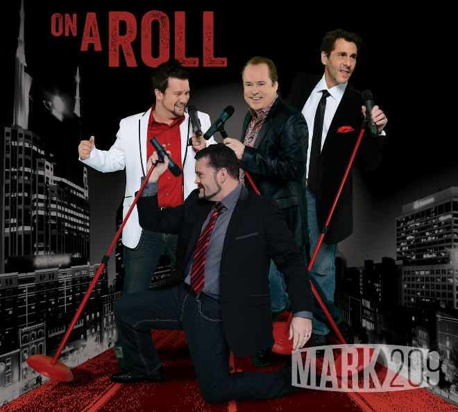 "MARK209's ""On A Roll"" CD cover"
