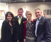 Shirley, husband Jim at AGMA 2015 with Dodd Meadows